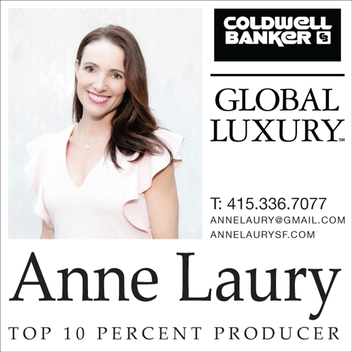 Anne Laury - Agent Immobilier San Francisco et Marin County