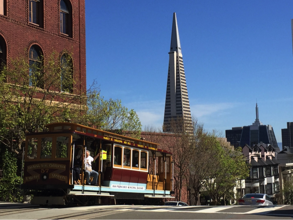 "VISITE ""NOB HILL & CABLE CAR"", SAN FRANCISCO BY GILLES"